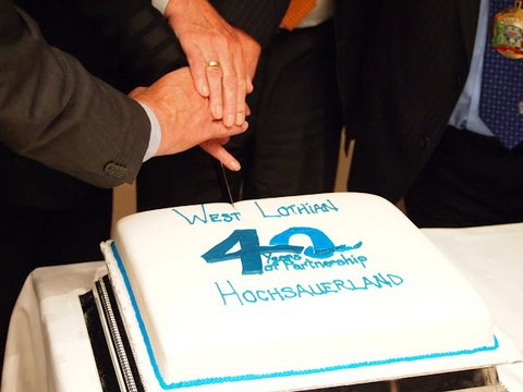 40 years of Twinning between West Lothian and Hochsauerland